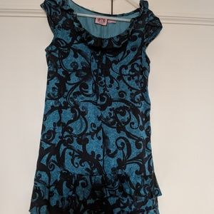 Juicy Couture silk dress XS